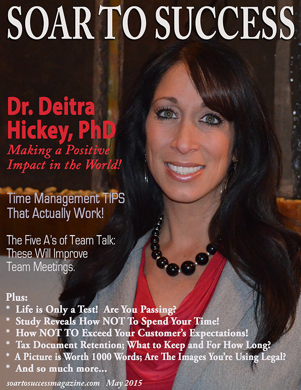 Dr Deitra Hickey Soar To Success May 2015
