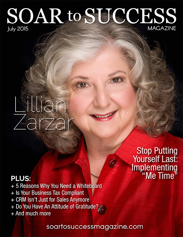 Lillian Zarzar Soar To Success July 2015