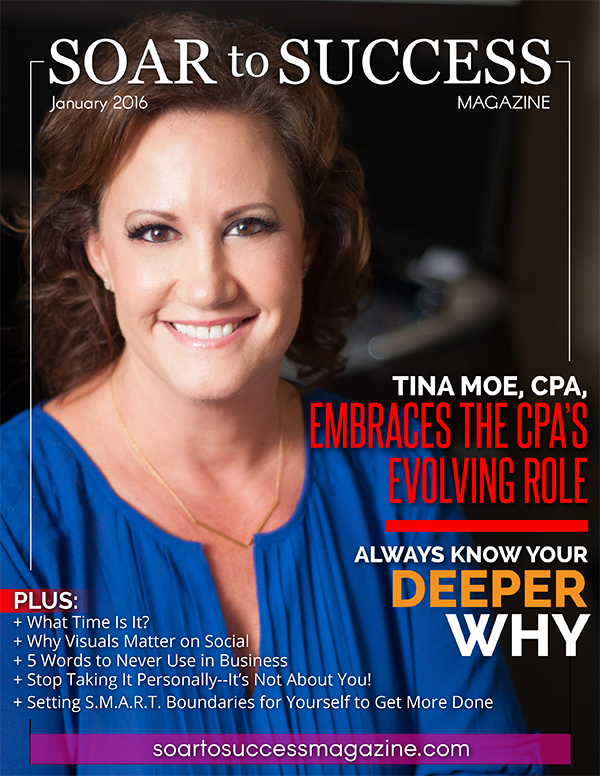 Tina Moe Soar To Success January 2016
