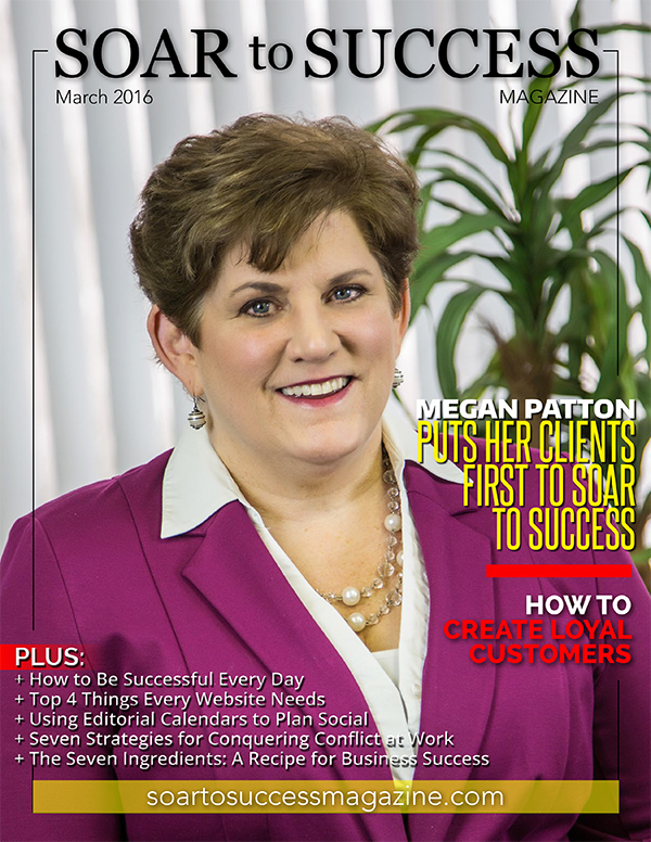 Megan Patton Soar To Success March 2016